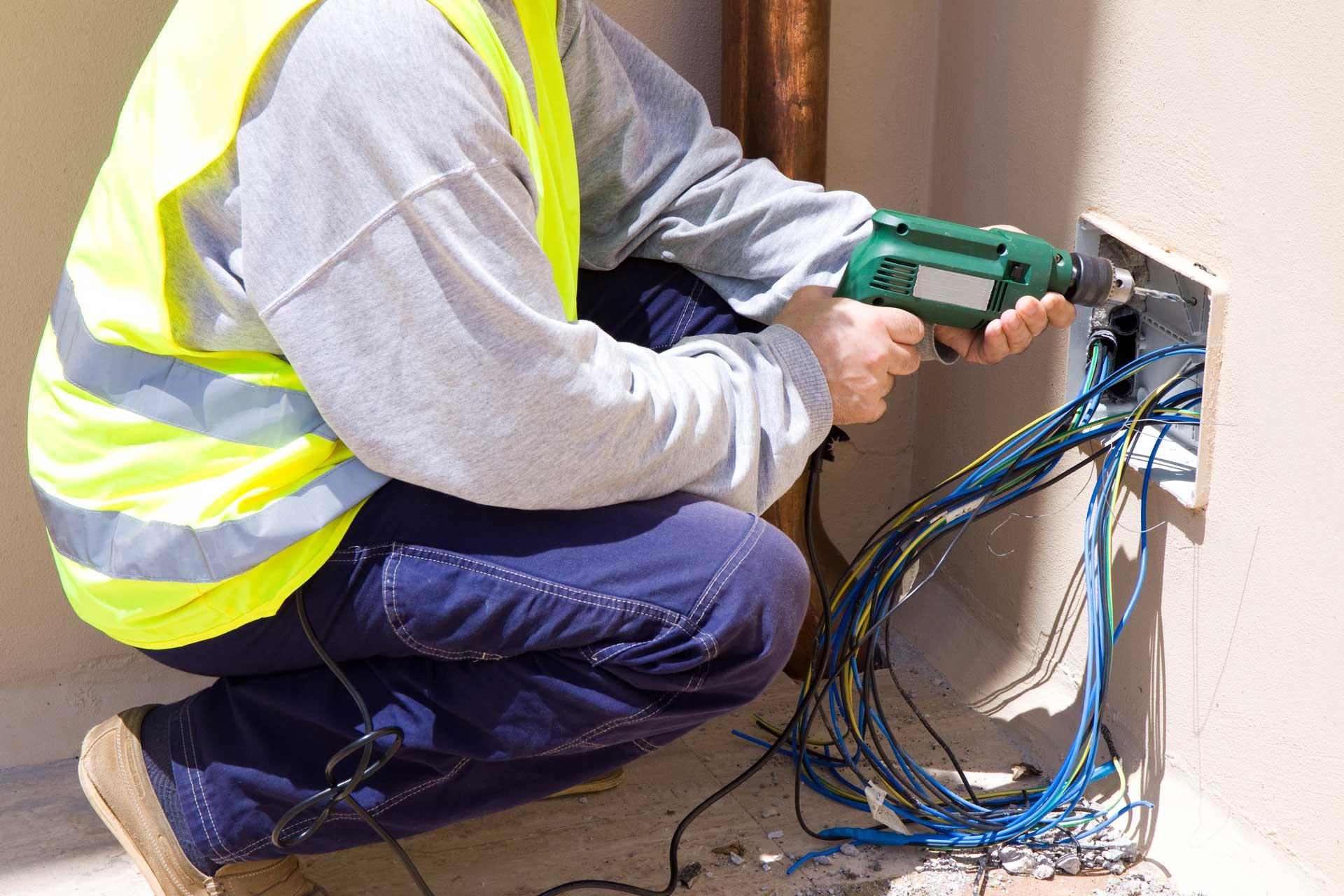 Epic Electric Kelowna Electrician Installing Electrical Panel Proper Wiring