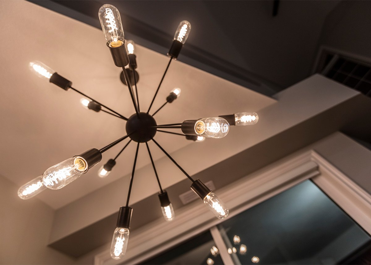 Kelowna Electrician: Epic Electric - Creative Touch Interiors project lighting