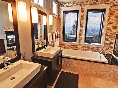 Kelowna electrician - Epic Electric Renovation Project: Montenegro Bathroom