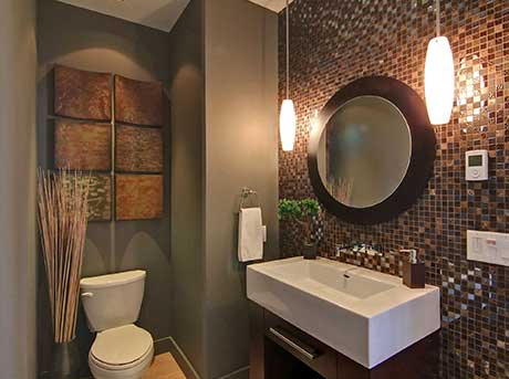 Kelowna electrician - Epic Electric Renovation Project: Montenegro Ensuite bathroom