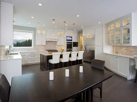 Kelowna electrician - Epic Electric Renovation Project: Highgate Court kitchen