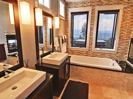 Kelowna electrician - Epic Electric Renovation Project: Montenegro Bathroom